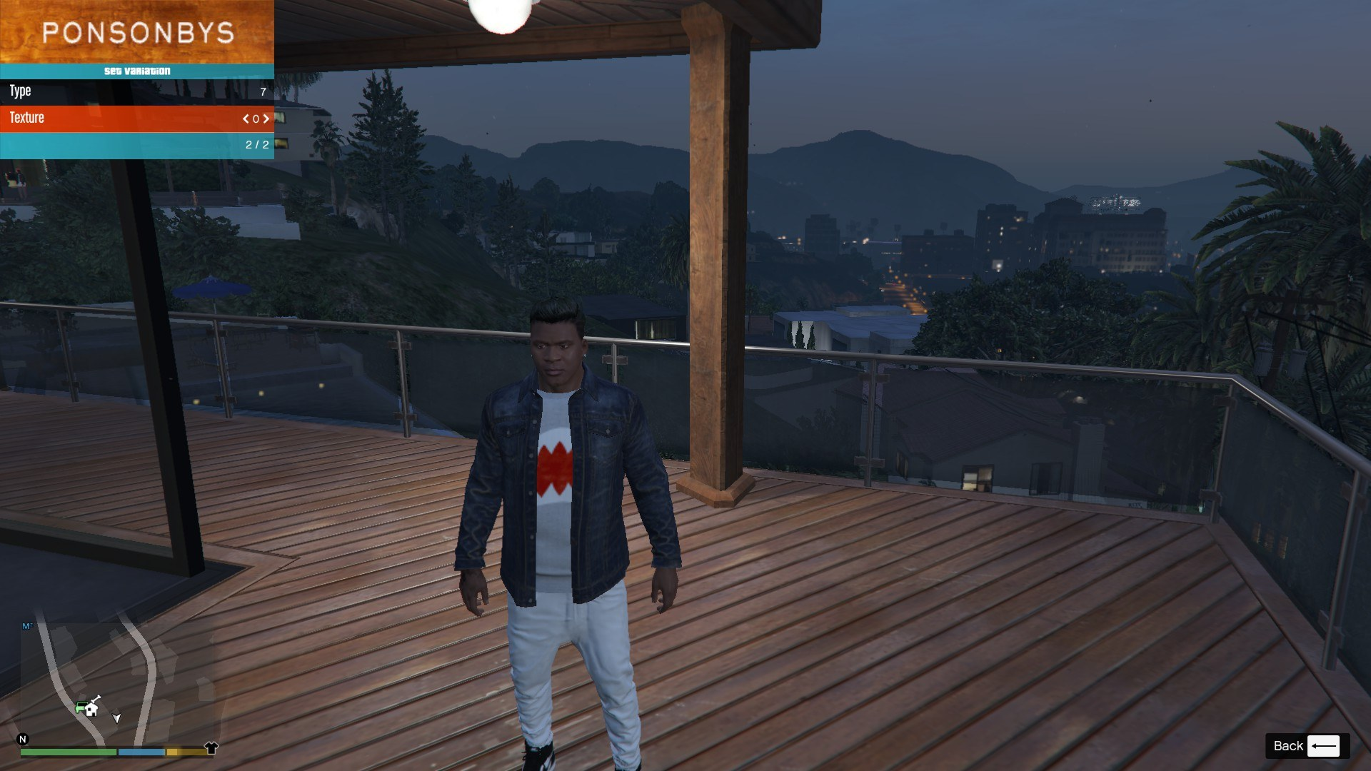 Denim and Sweater for Franklin GTA5 Mods (1)
