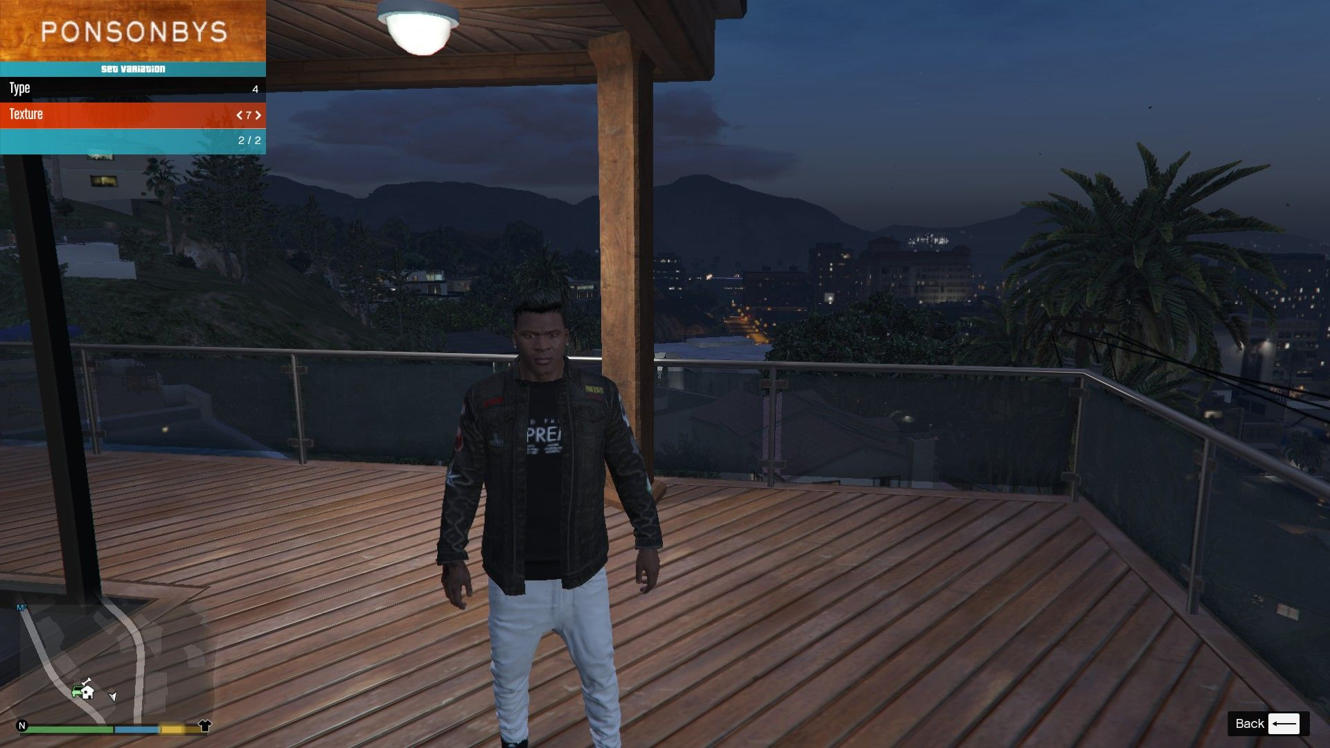Denim and Sweater for Franklin GTA5 Mods (10)