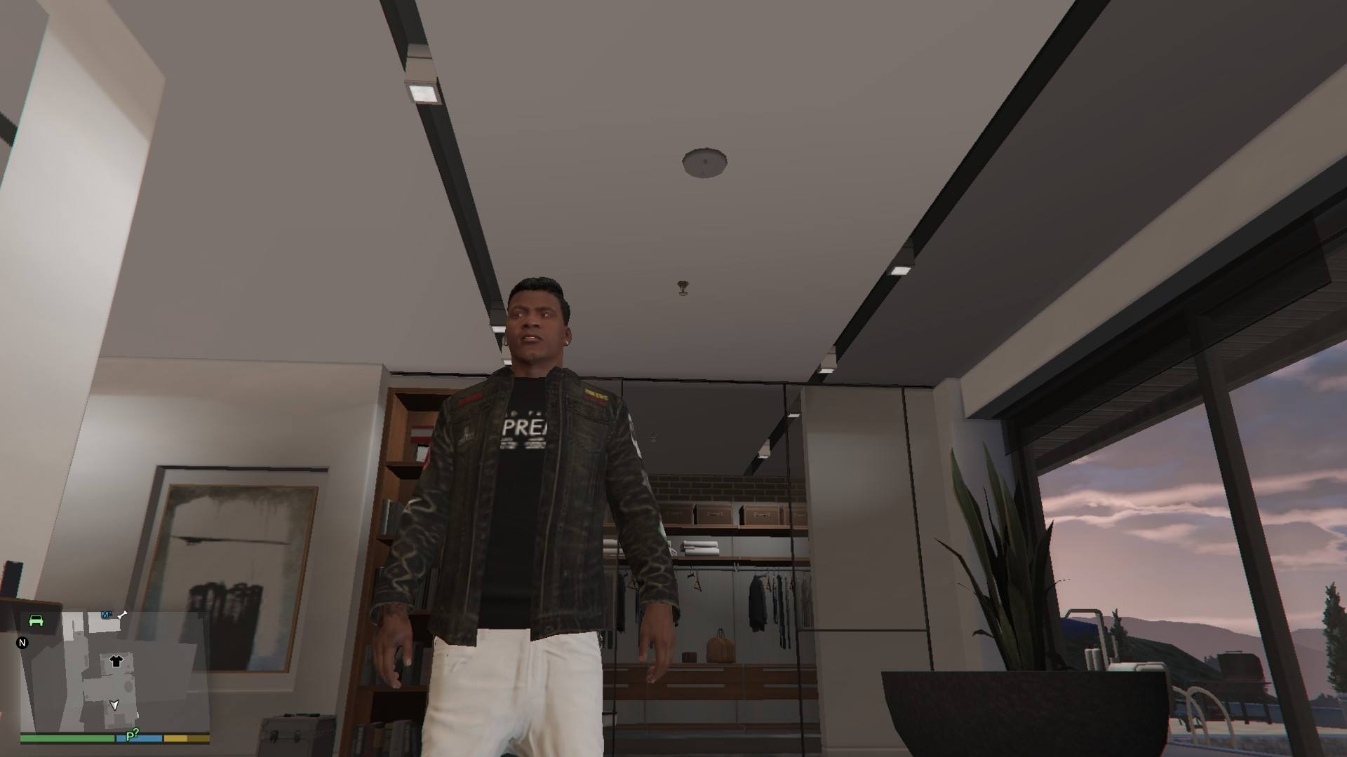 Denim and Sweater for Franklin GTA5 Mods (11)