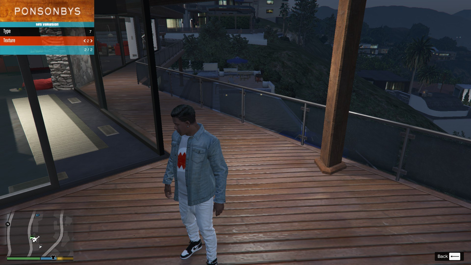 Denim and Sweater for Franklin GTA5 Mods (3)