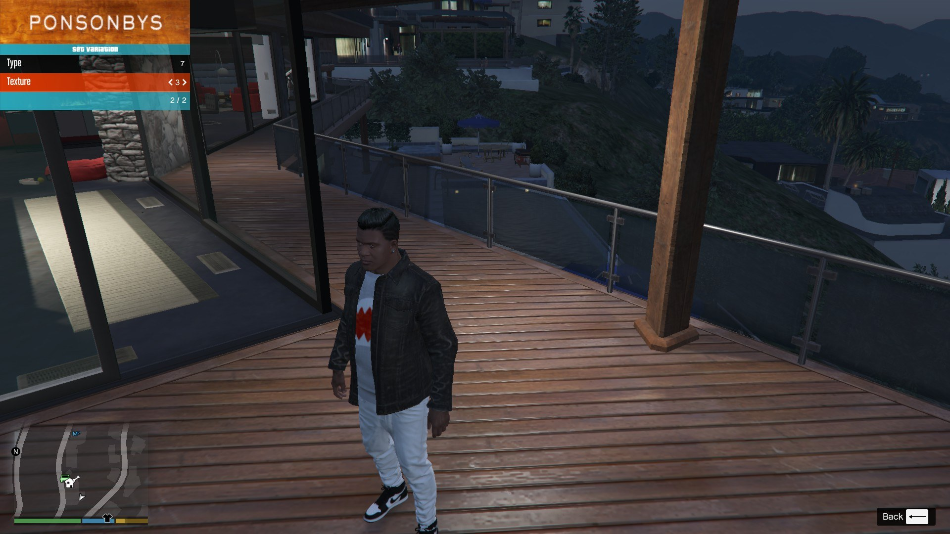 Denim and Sweater for Franklin GTA5 Mods (4)
