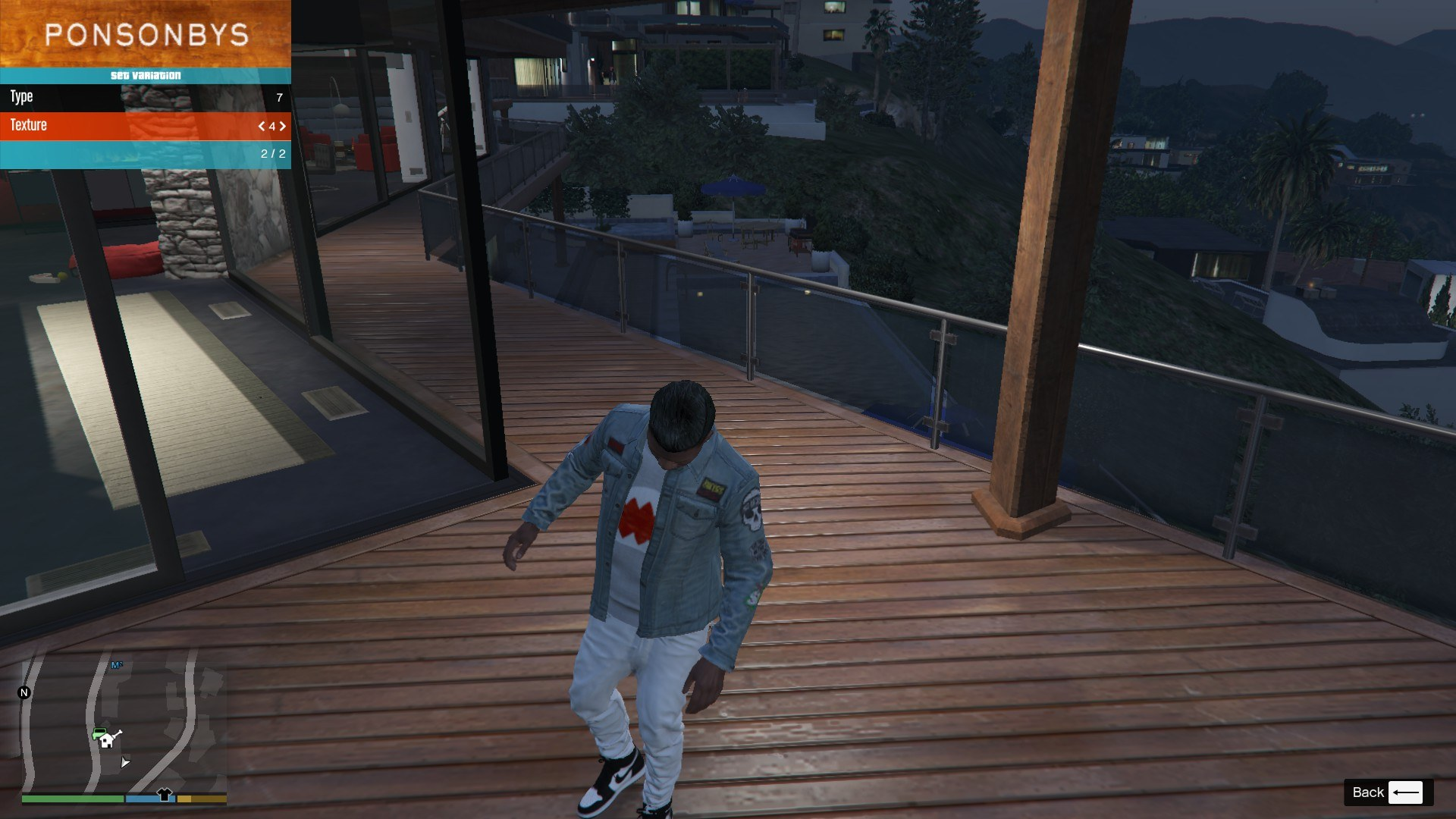 Denim and Sweater for Franklin GTA5 Mods (5)