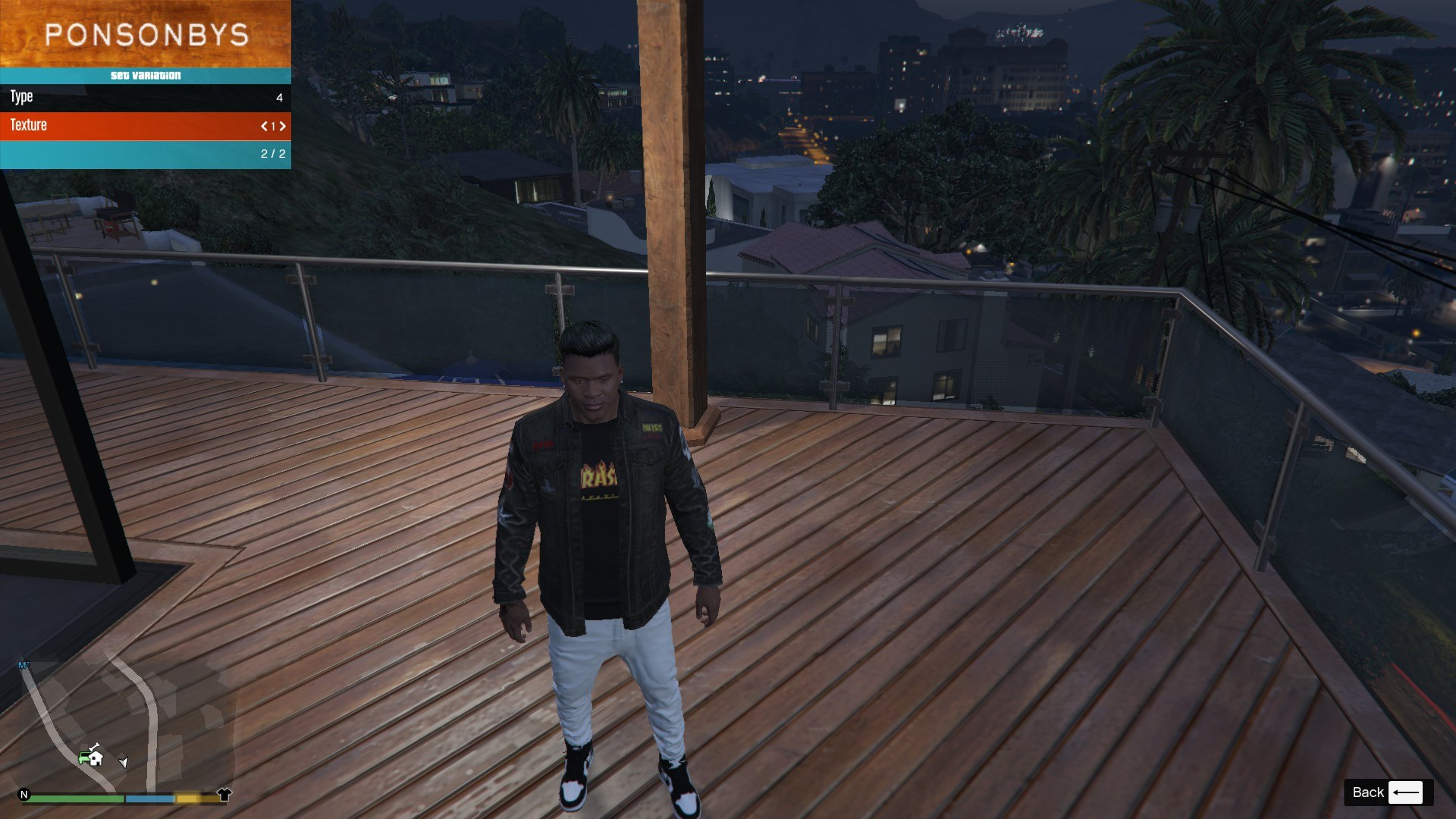 Denim and Sweater for Franklin GTA5 Mods (9)