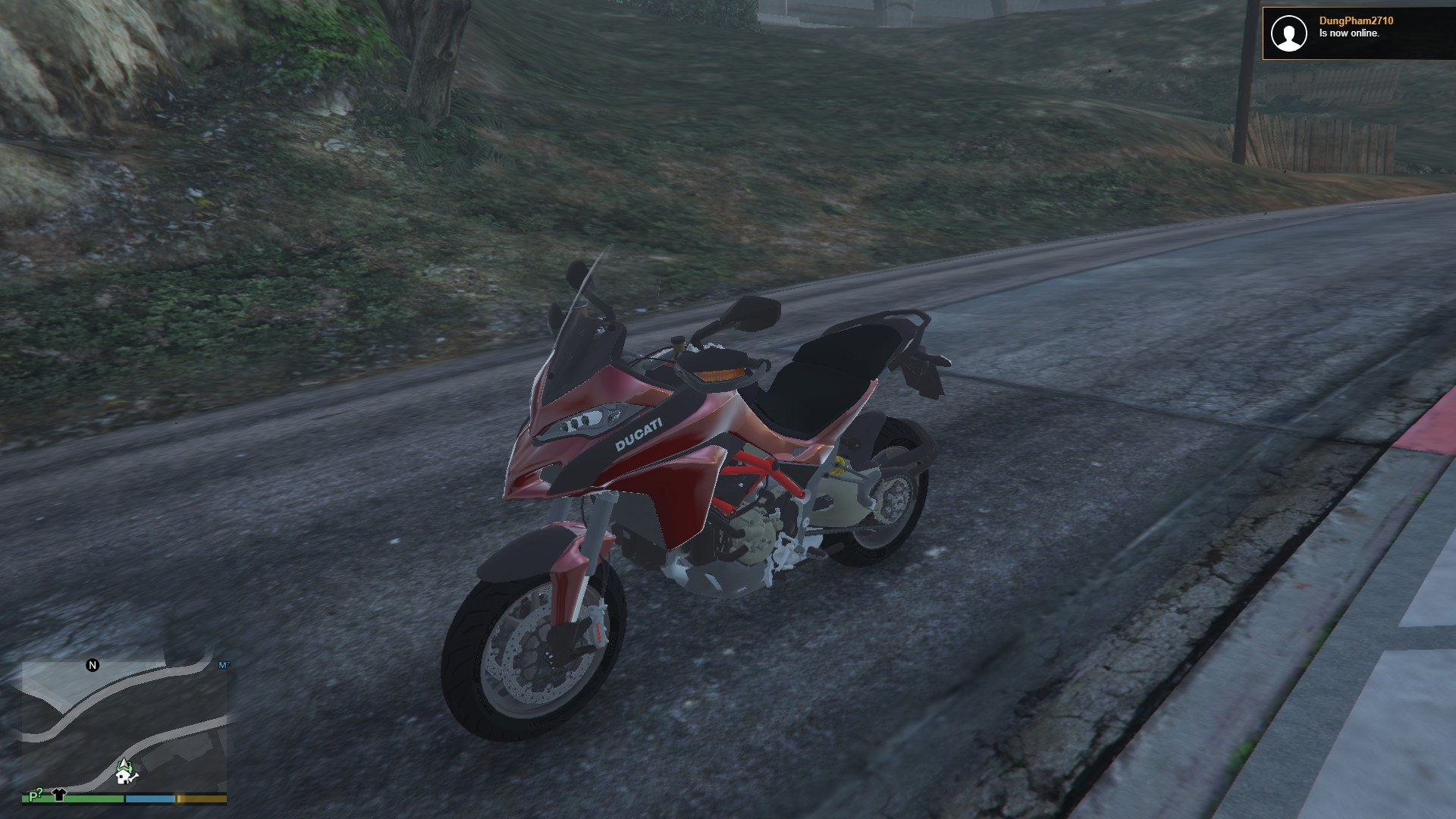 Ducati Multistrada 2015 GTA5 Mods (1)