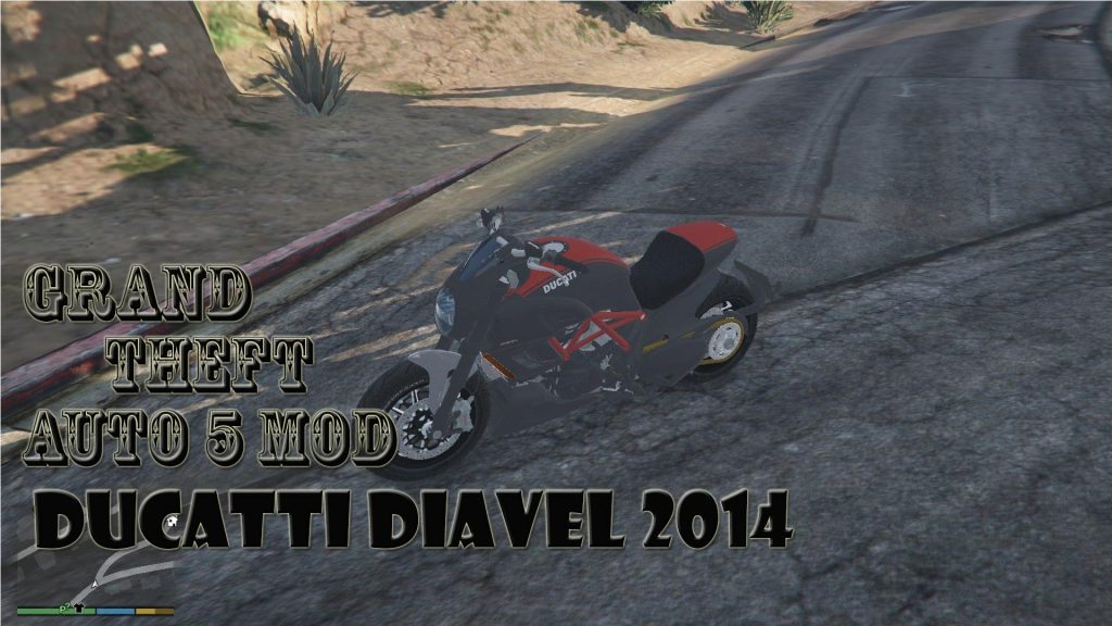 2014 Ducati Diavel Motocycle Mod For GTA 5