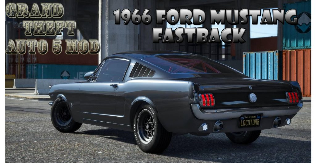 1966 Ford Mustang Fastback Mod For GTA 5