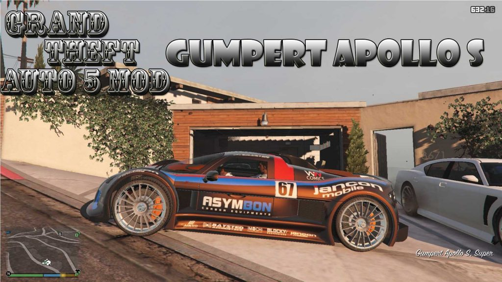 Gumpert Apollo S Mod For GTA 5
