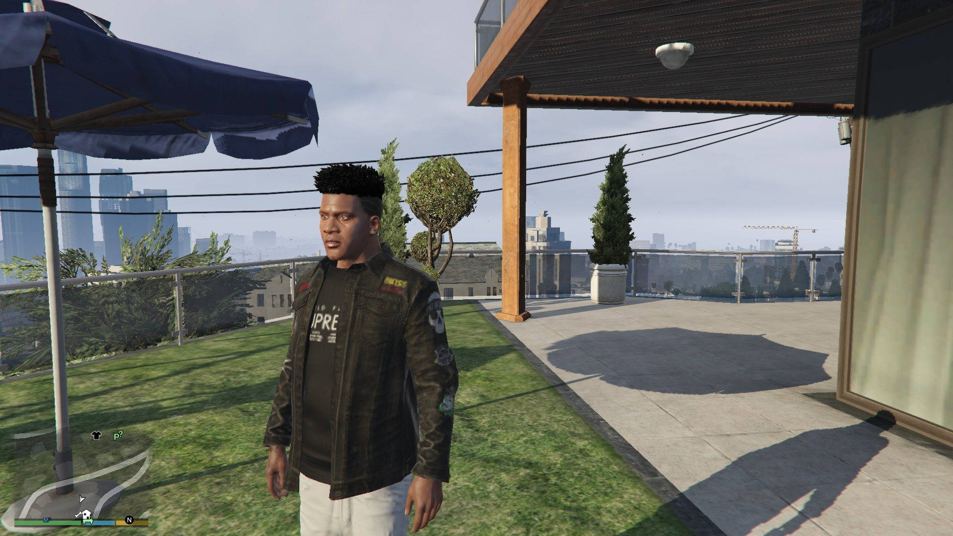 Hair Pack For Franklin GTA5 Mods (7)