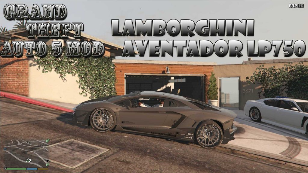 Lamborghini Aventador LP750SV Mod For GTA 5