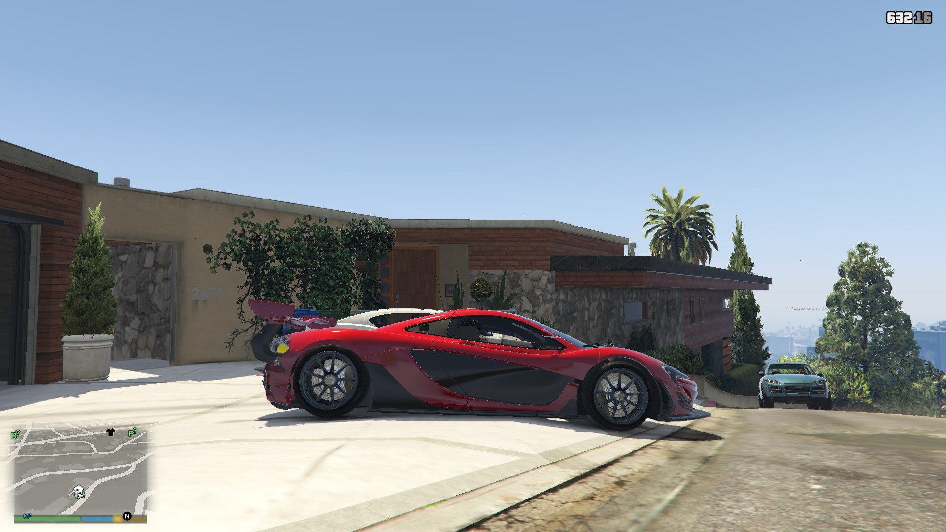 McLaren P1 GTR Road Legal GTA5 Mods (3)