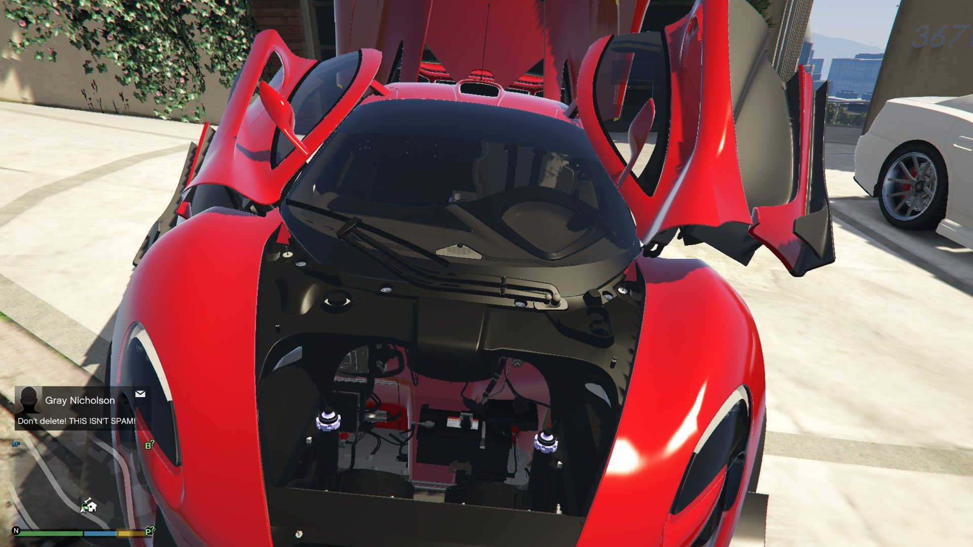 McLaren P1 GTR Road Legal GTA5 Mods (6)