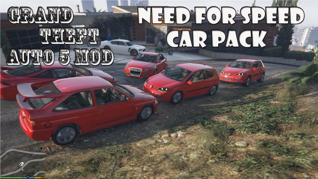 Need For Speed Car Pack Mod For GTA 5