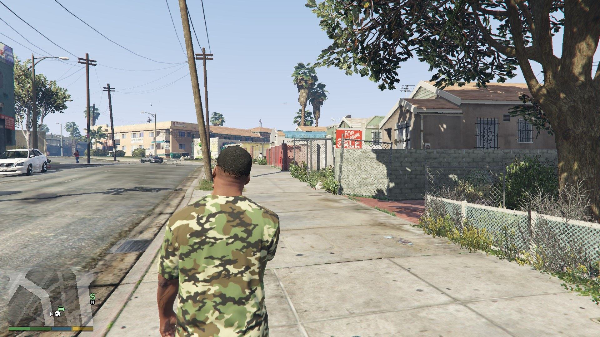 Nike Camo T-Shirt For Franklin GTA5 Mods (10)