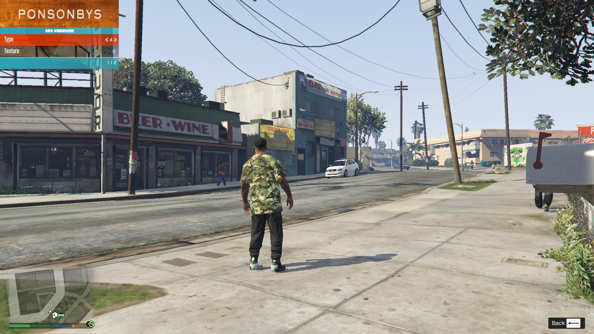 Nike Camo T-Shirt For Franklin GTA5 Mods (6)