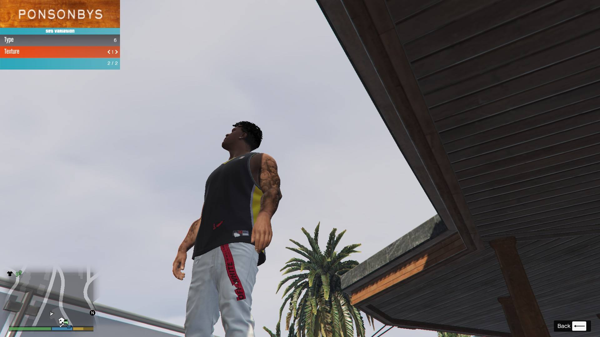 Off-White BELT for Franklin GTA5 Mods (2)