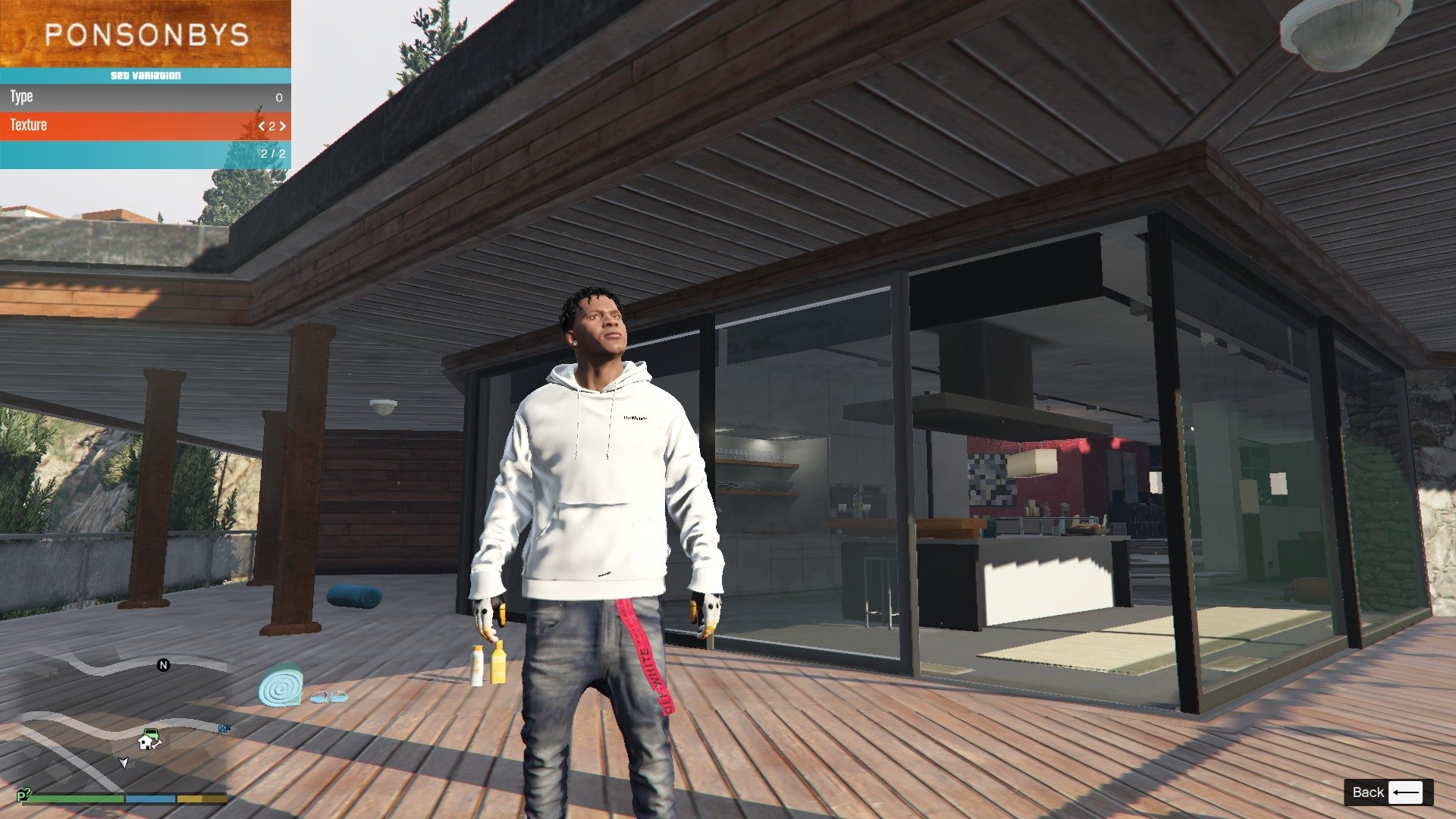 Off-White BELT for Franklin GTA5 Mods (4)