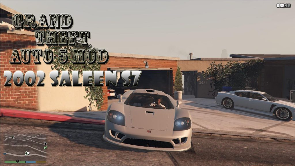 2002 Saleen S7 Car Mod For GTA 5