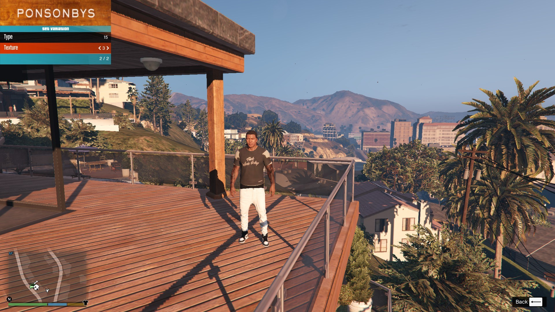T-Shirt Collection Gnarcotic For Franklin GTA5 Mods (1)