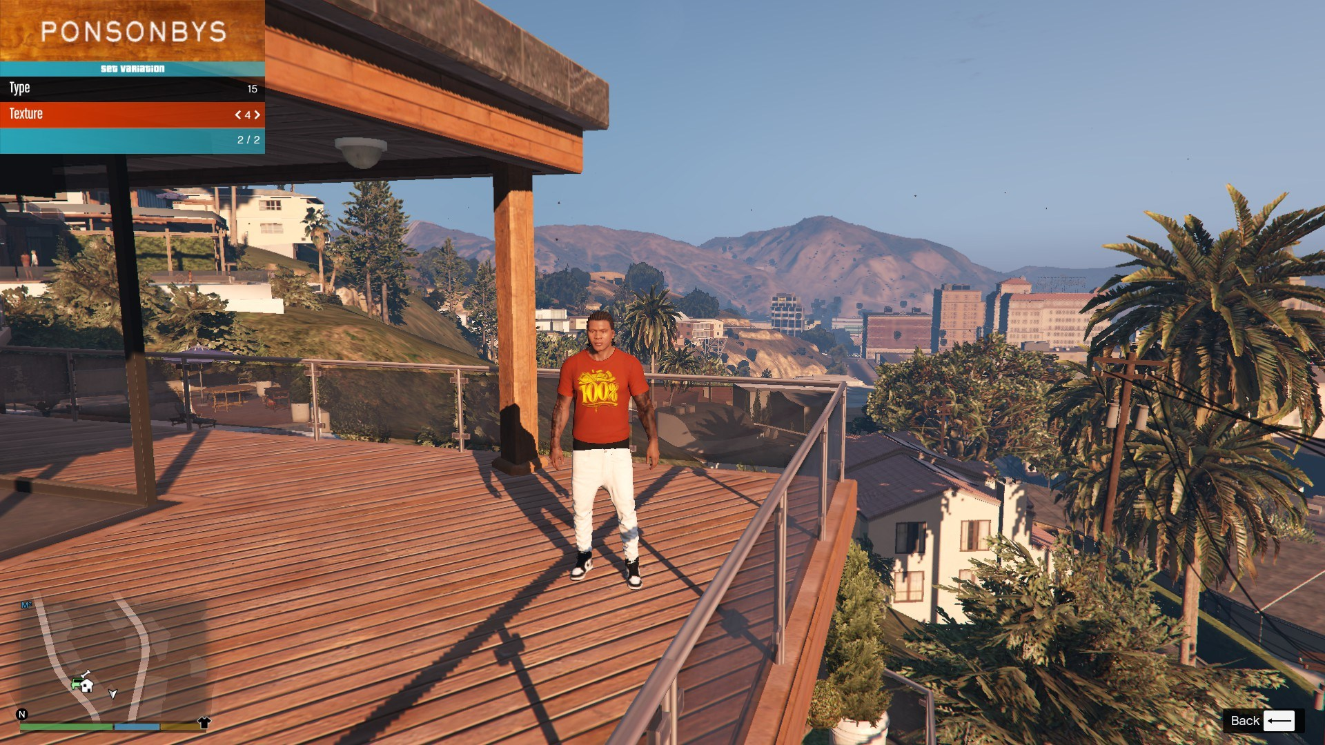T-Shirt Collection Gnarcotic For Franklin GTA5 Mods (2)