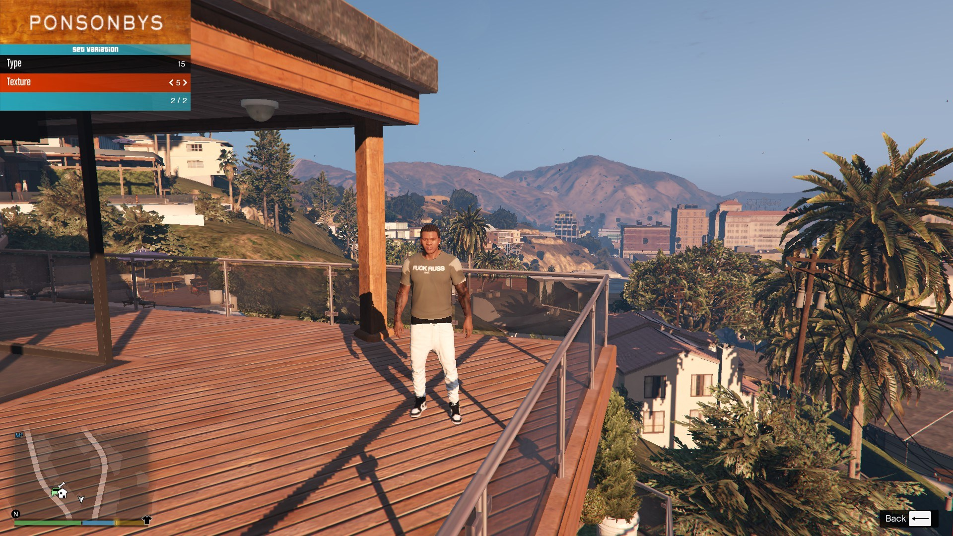 T-Shirt Collection Gnarcotic For Franklin GTA5 Mods (3)