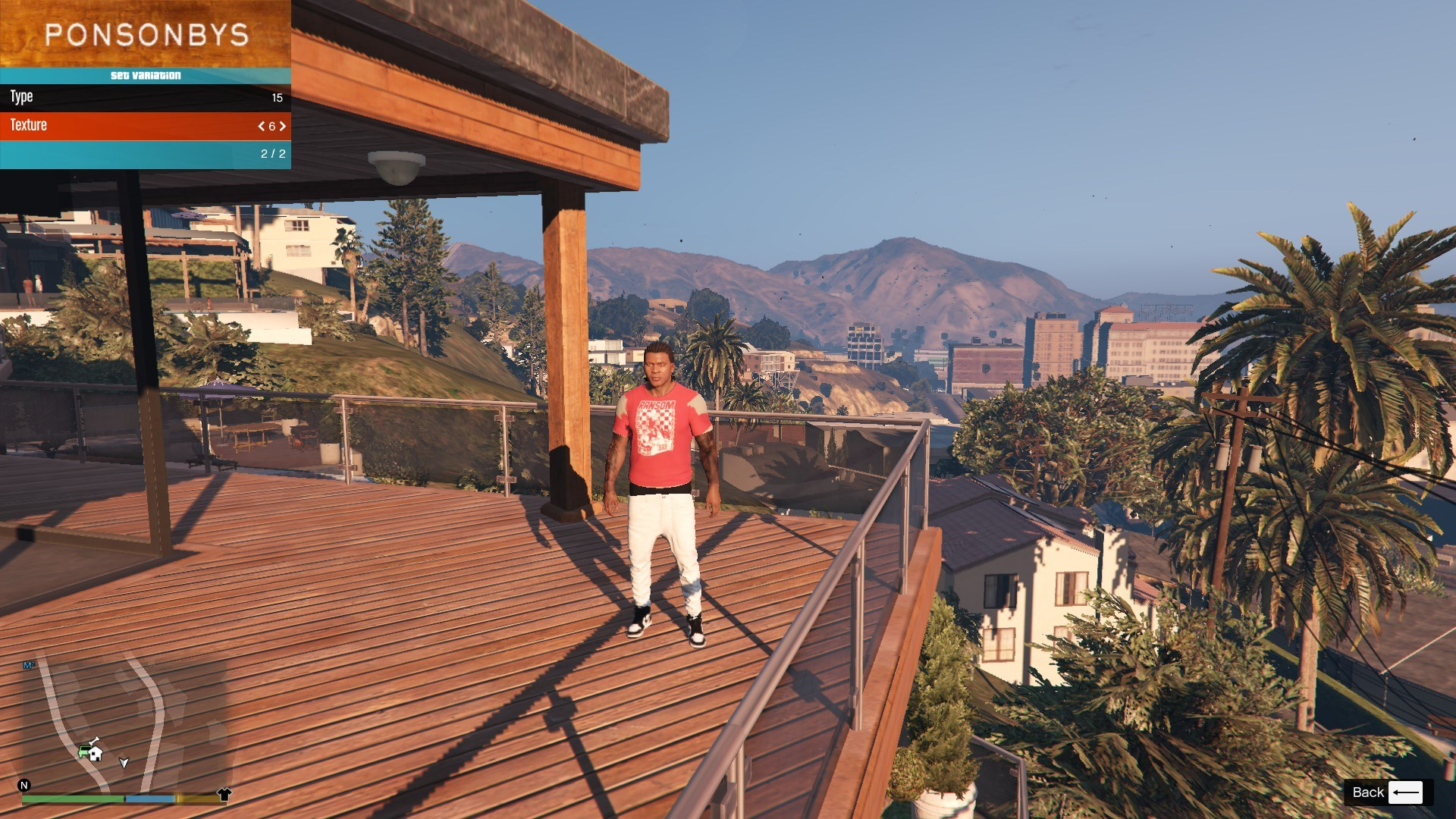 T-Shirt Collection Gnarcotic For Franklin GTA5 Mods (4)