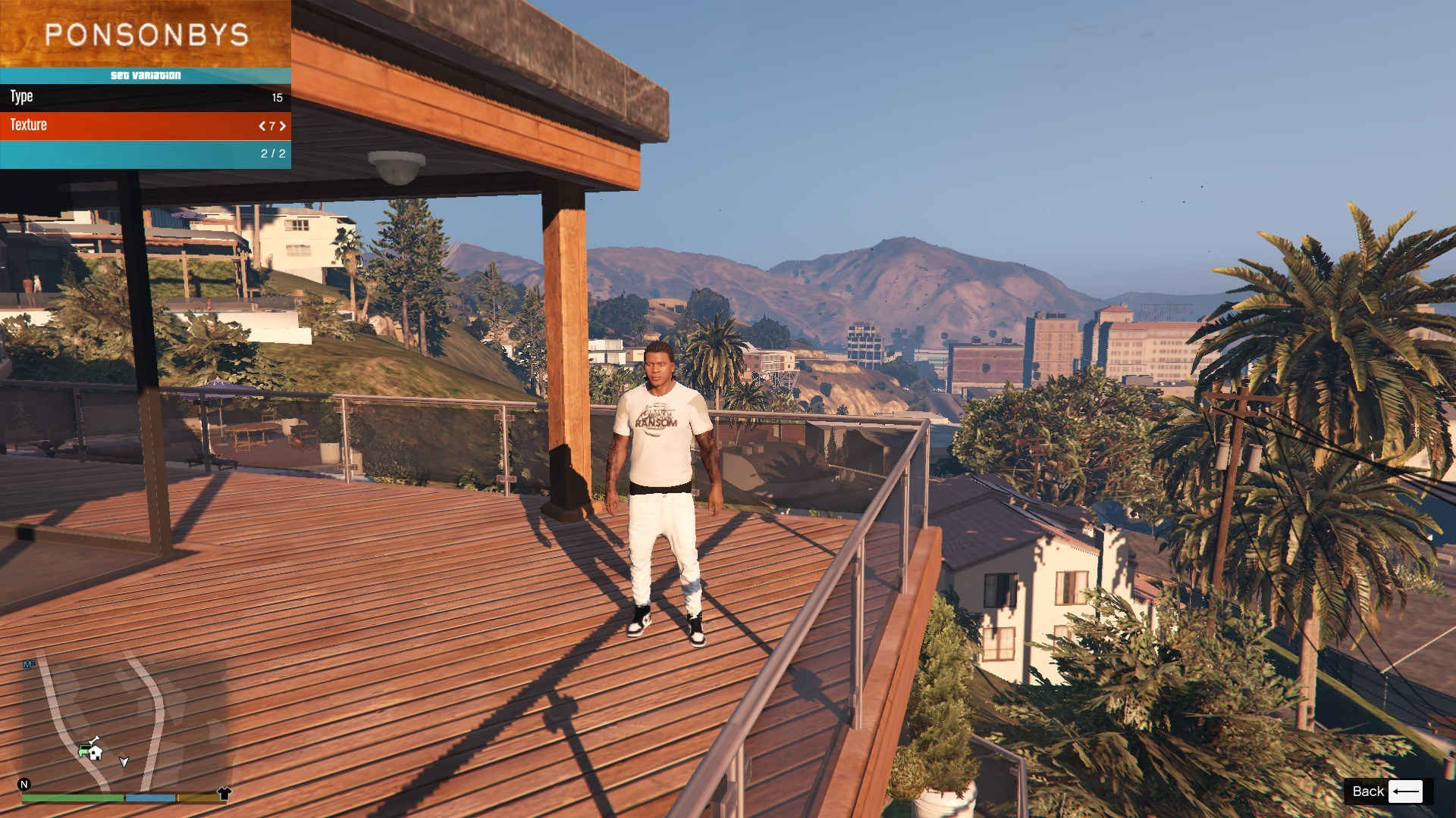 T-Shirt Collection Gnarcotic For Franklin GTA5 Mods (5)