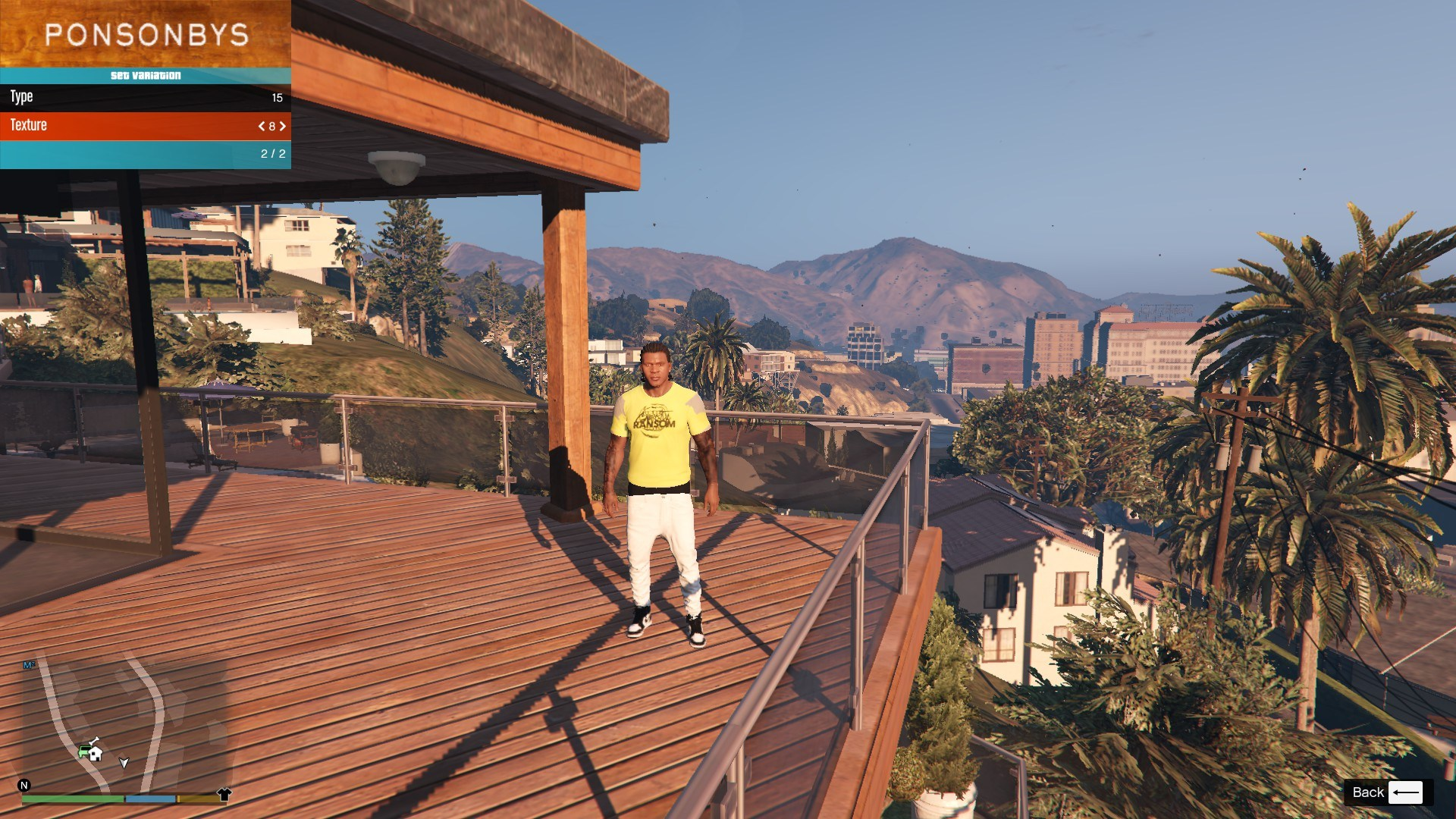 T-Shirt Collection Gnarcotic For Franklin GTA5 Mods (6)