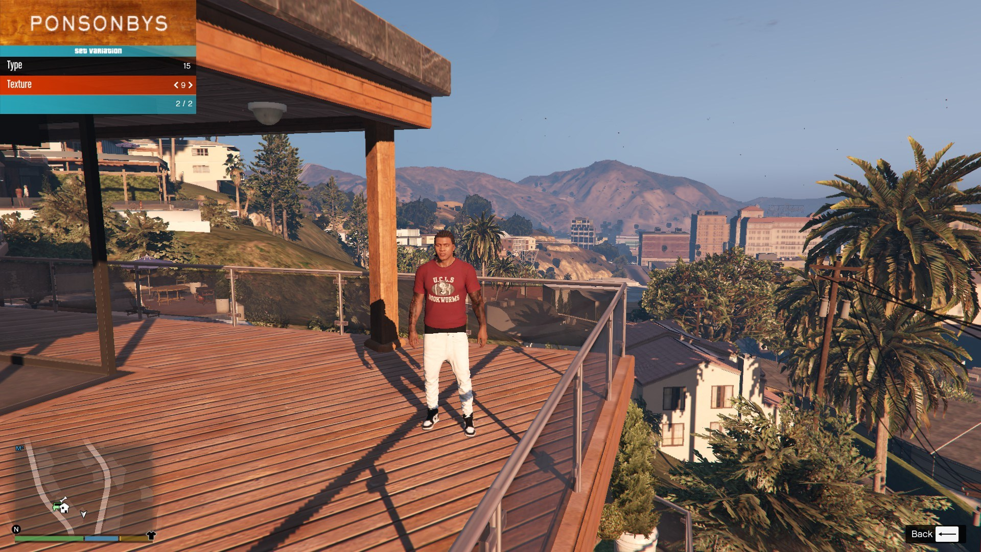 T-Shirt Collection Gnarcotic For Franklin GTA5 Mods (7)