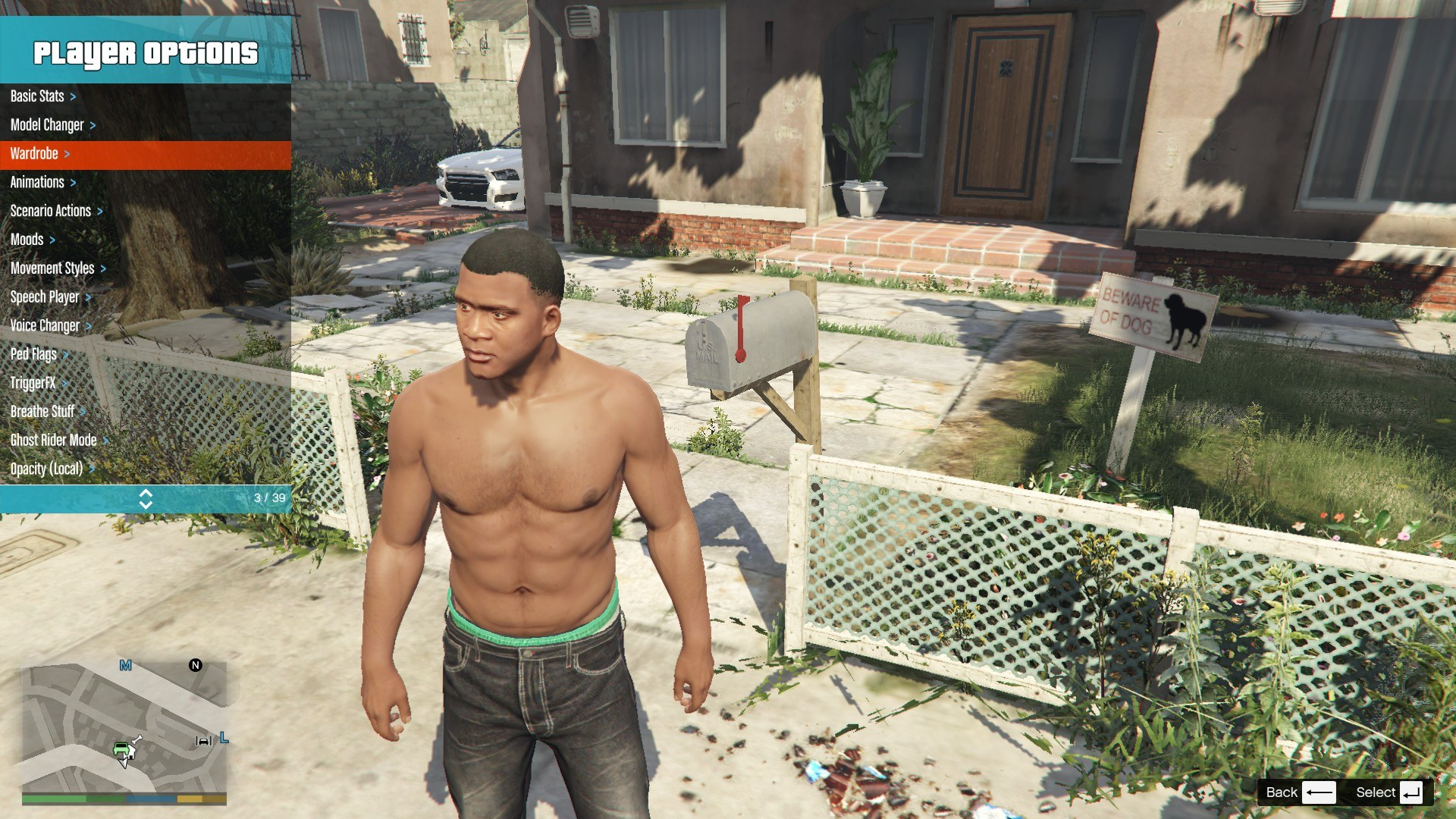 Tattoos Pack For Franklin GTA5 Mods (3)