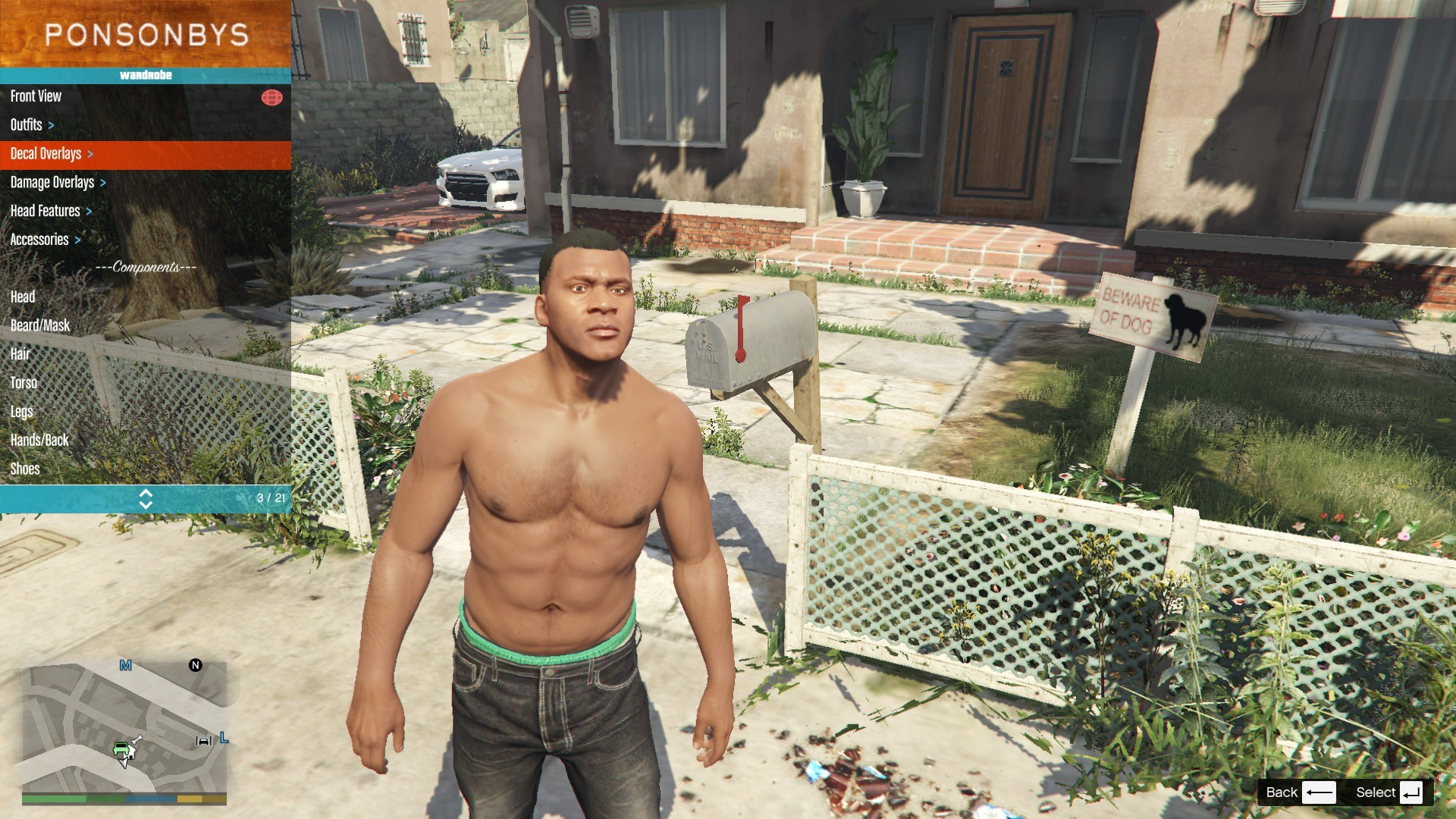 Tattoos Pack For Franklin GTA5 Mods (4)