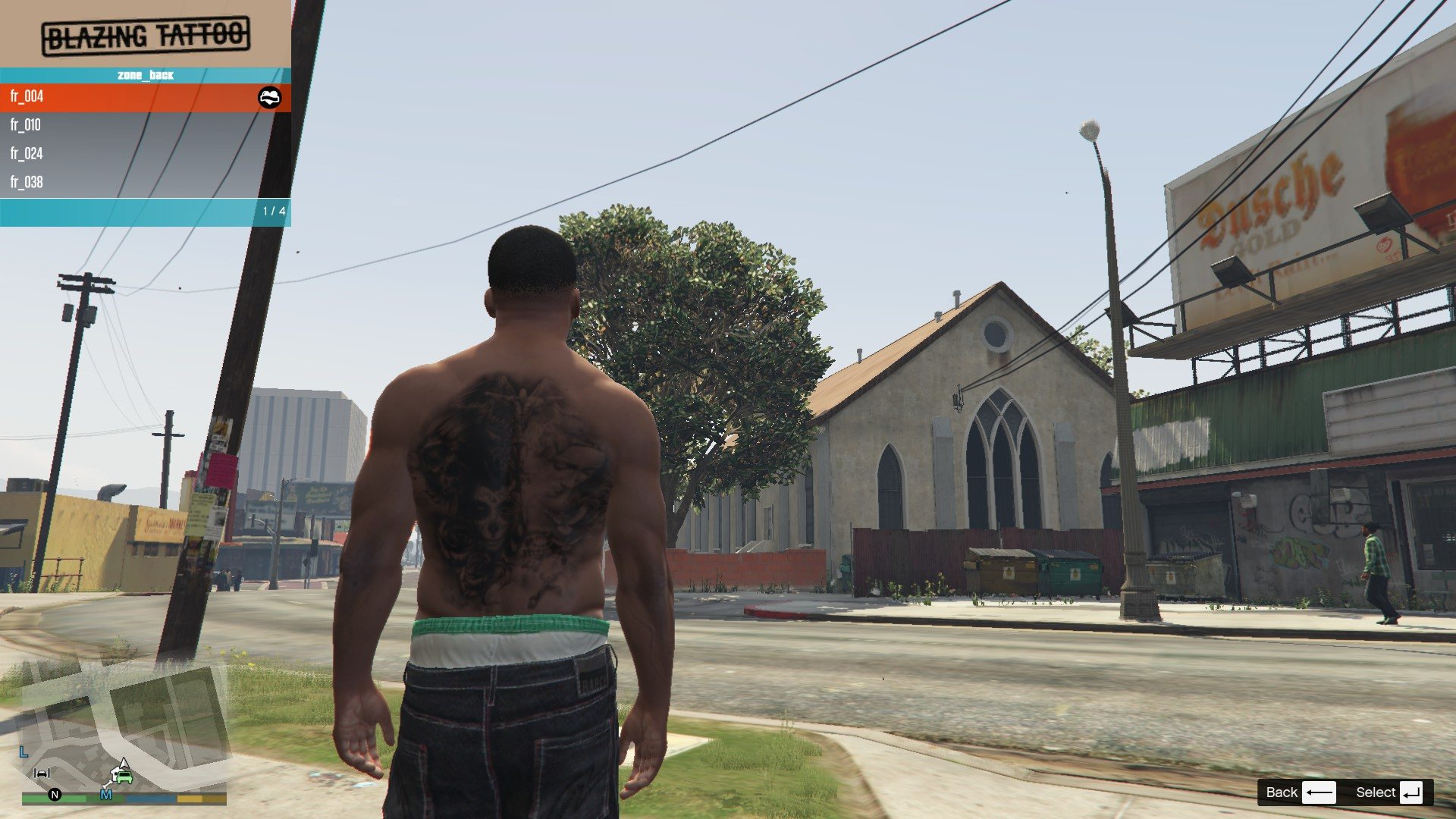 Tattoos Pack For Franklin GTA5 Mods (6)
