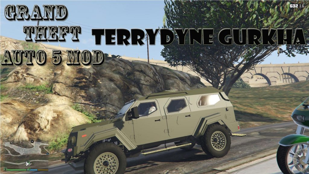 Terradyne Gurkha Mod For GTA 5