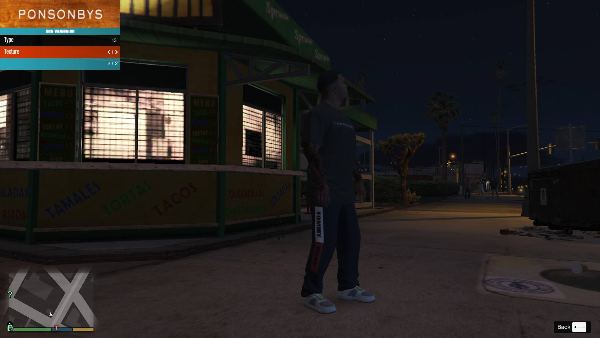 Tommy Hilfiger Pack For Franklin GTA5 Mods (7)