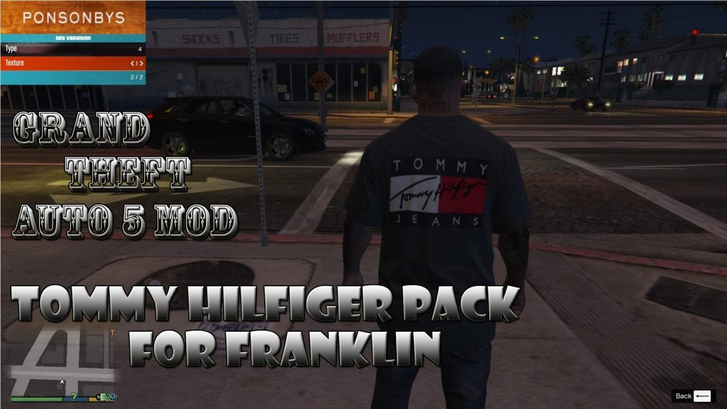 Tommy Hilfiger Pack On Franklin Mod For GTA 5