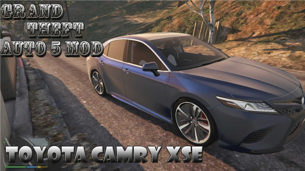 Toyota Camry XSE 2018 Mod For GTA 5
