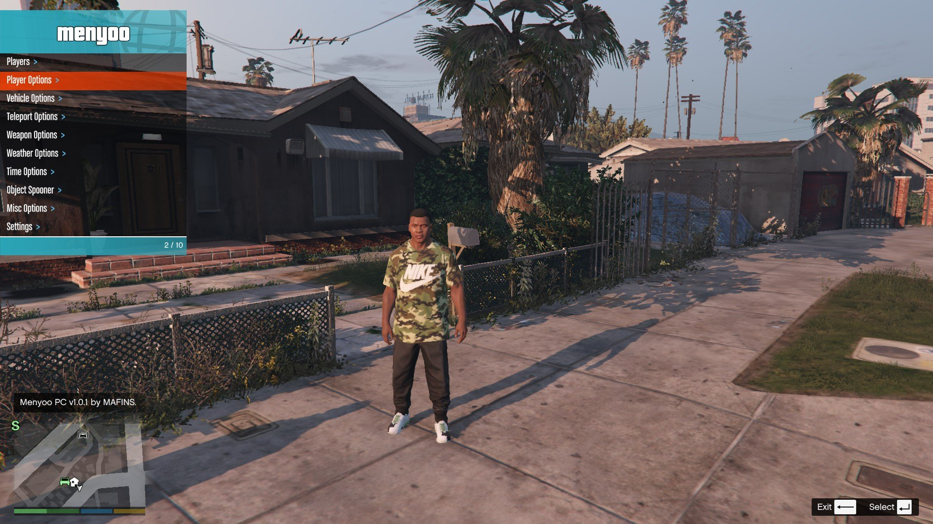 Tracksuit For Franklin GTA5 Mods (1)