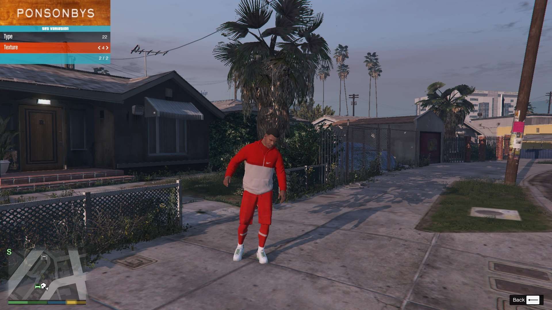 Tracksuit For Franklin GTA5 Mods (10)