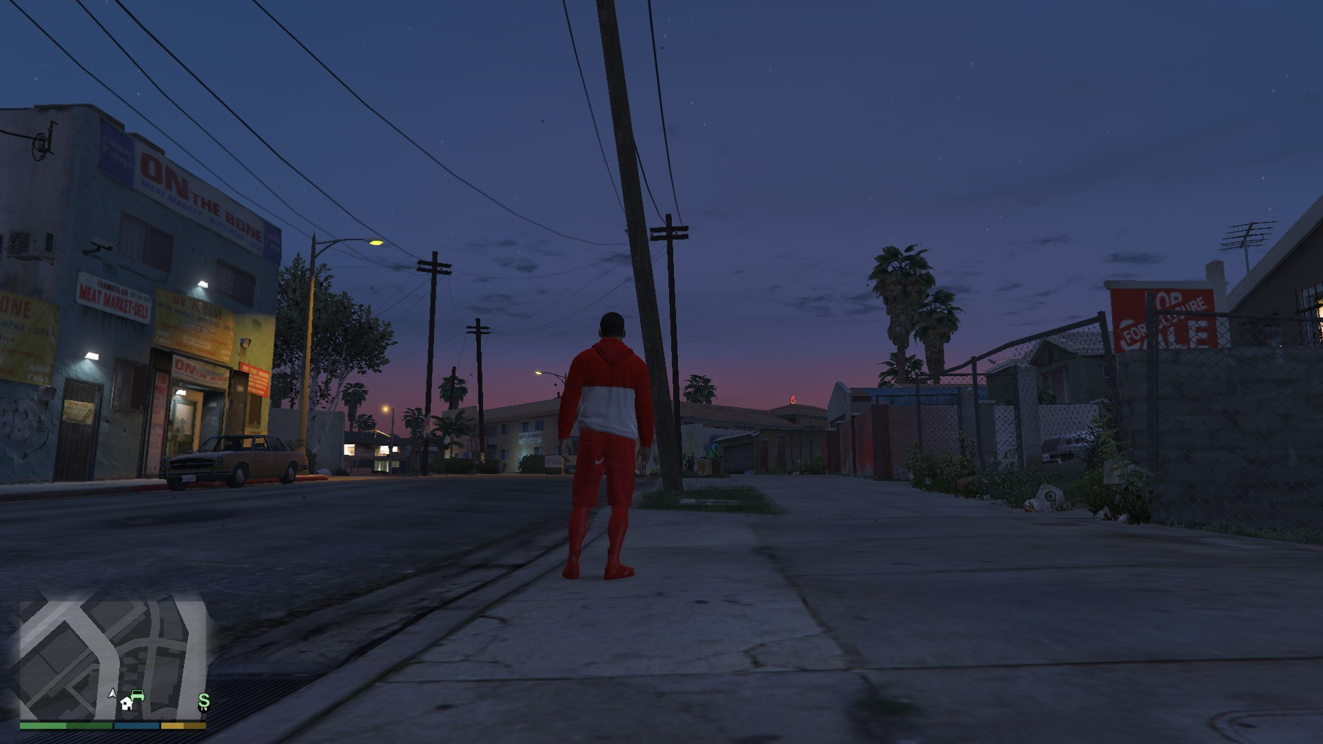 Tracksuit For Franklin GTA5 Mods (12)