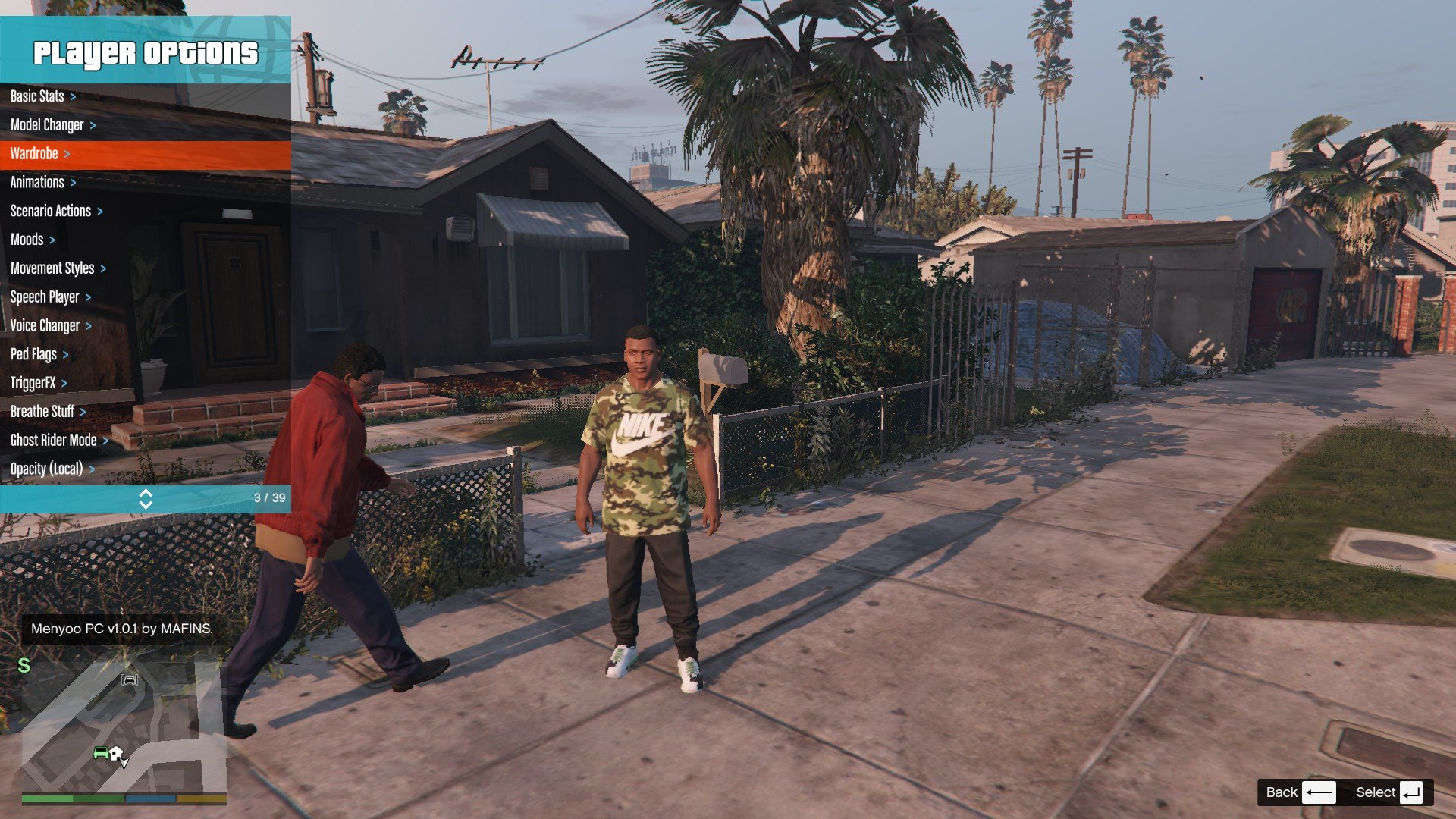 Tracksuit For Franklin GTA5 Mods (2)