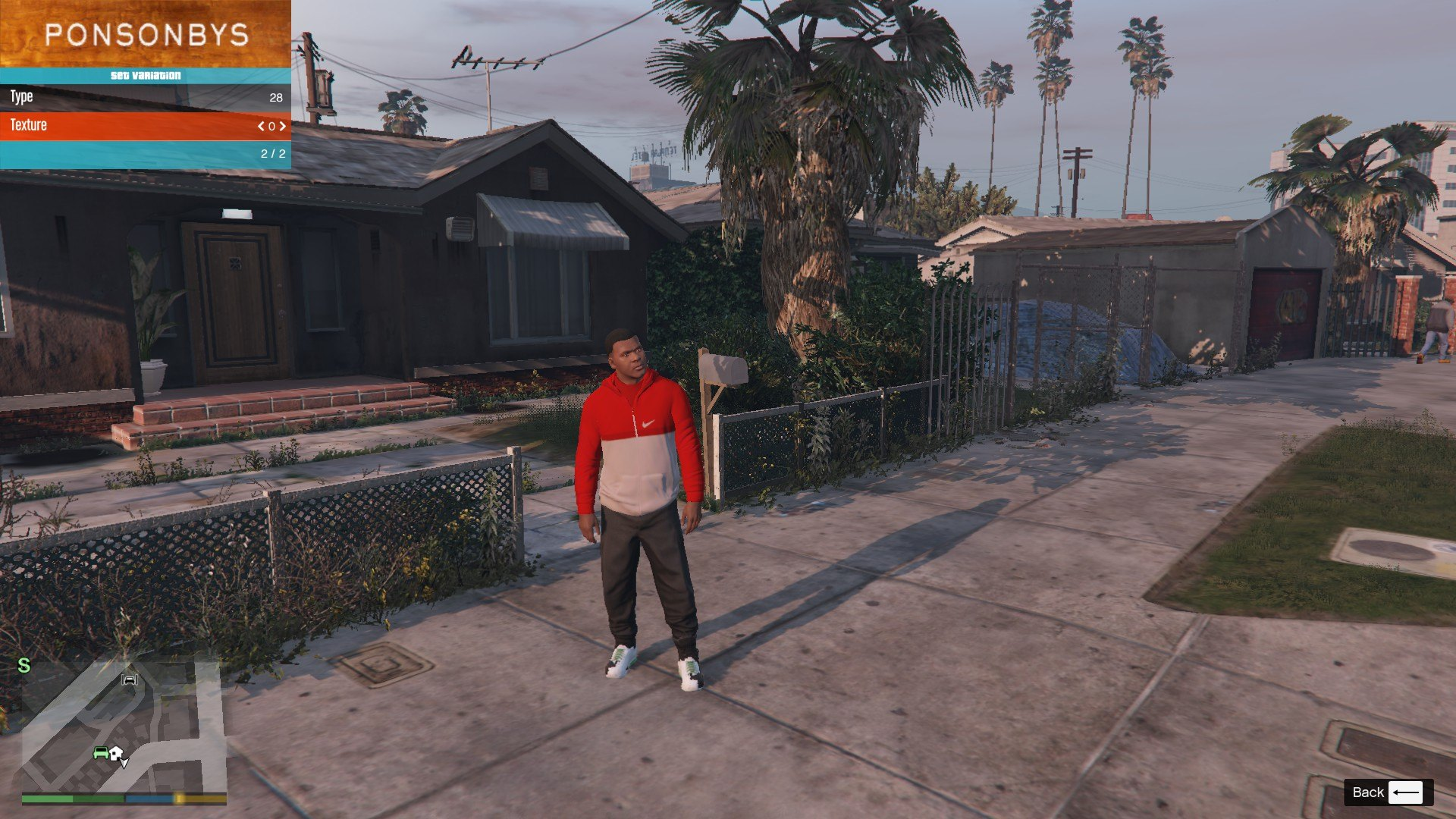 Tracksuit For Franklin GTA5 Mods (3)