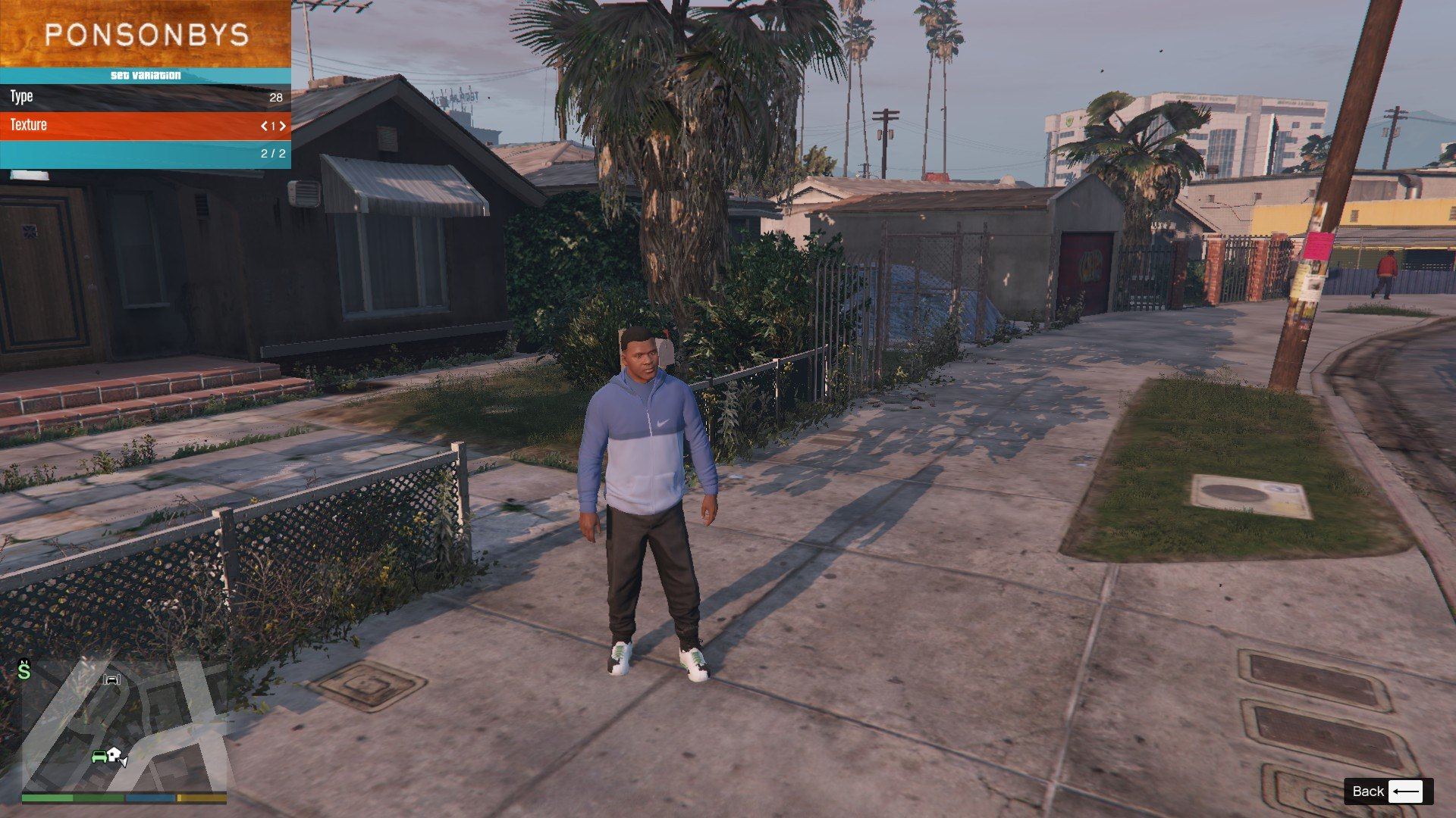 Tracksuit For Franklin GTA5 Mods (4)