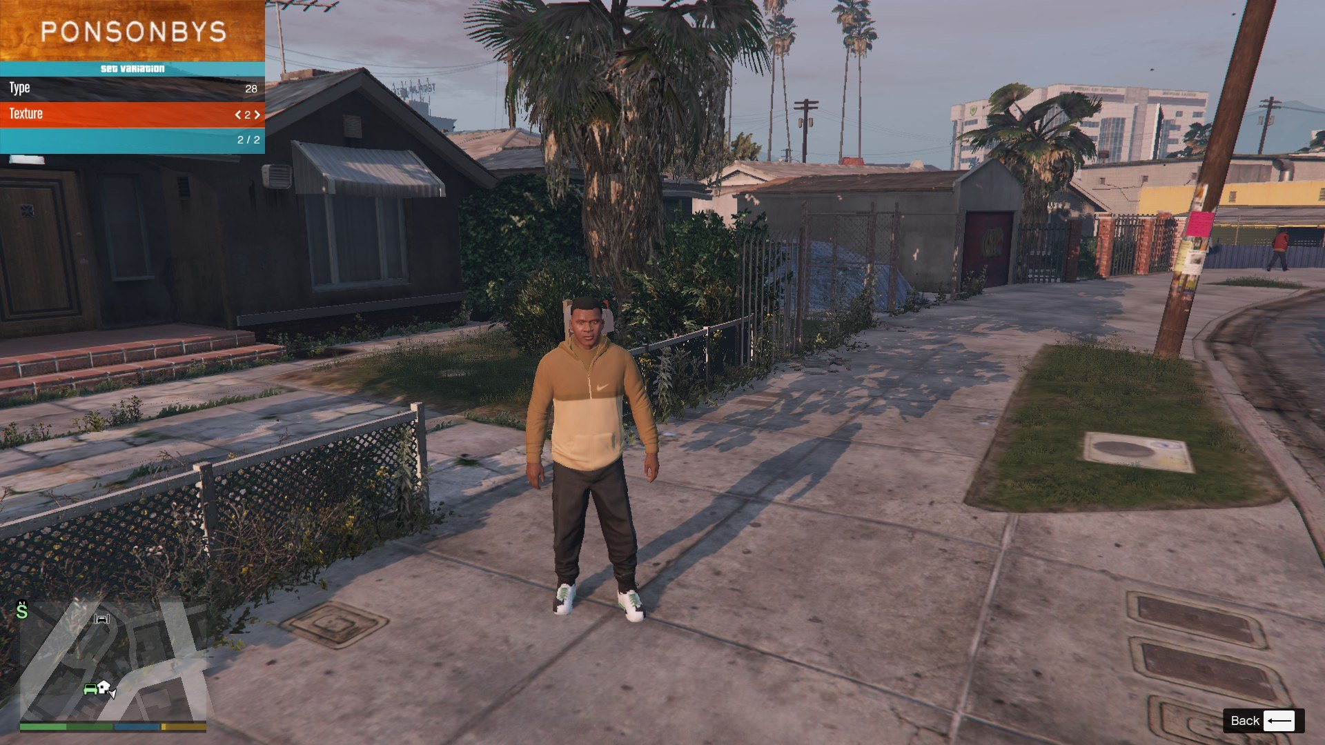 Tracksuit For Franklin GTA5 Mods (5)