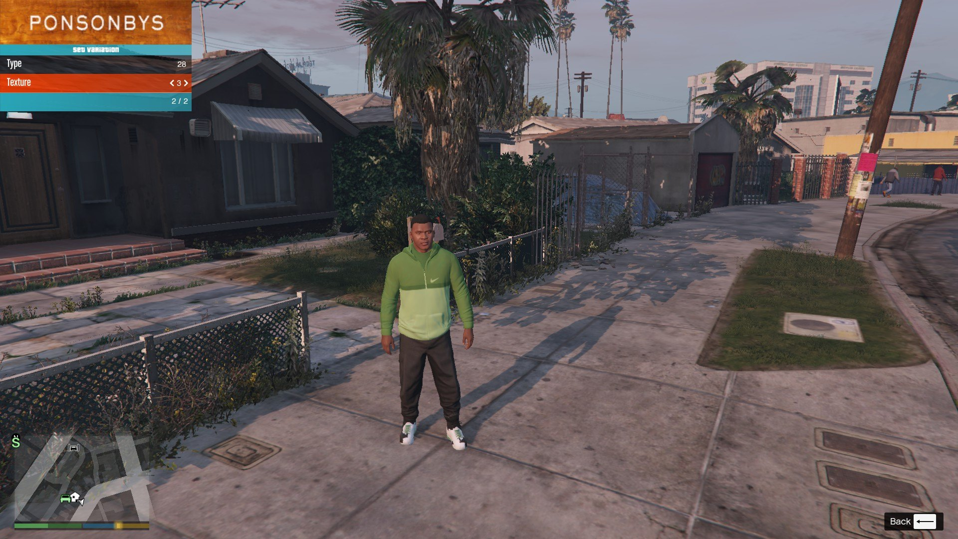 Tracksuit For Franklin GTA5 Mods (6)