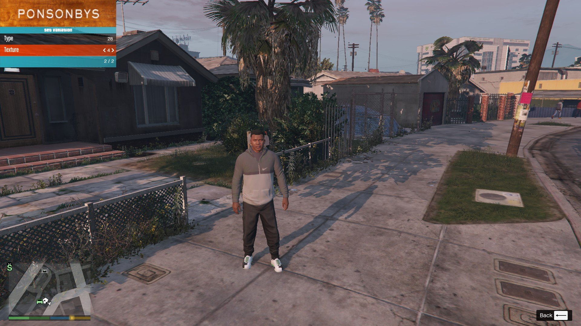 Tracksuit For Franklin GTA5 Mods (7)