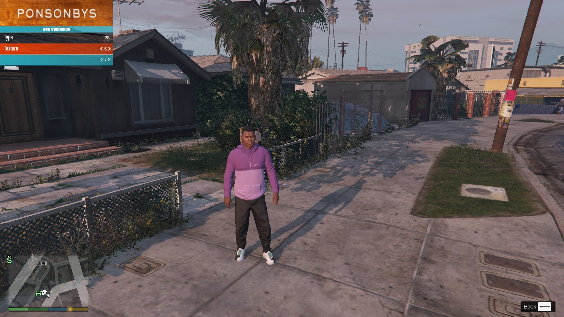 Tracksuit For Franklin GTA5 Mods (8)