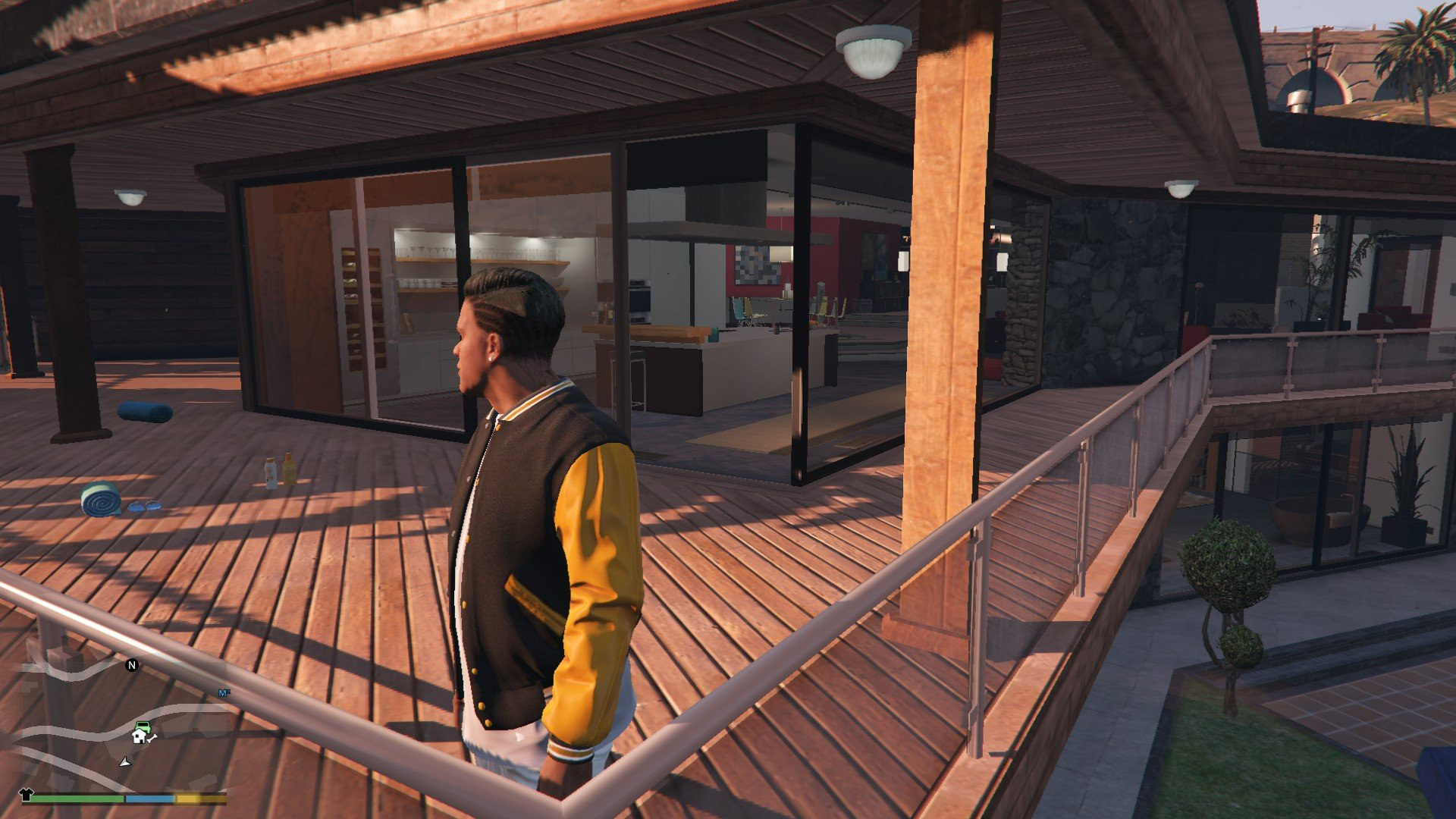 Undercut Hair For Franklin GTA5 Mods (5)