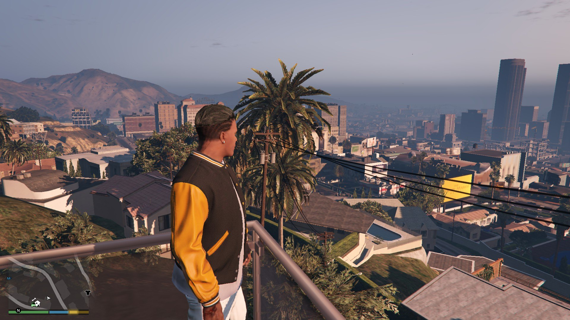 Undercut Hair For Franklin GTA5 Mods (6)