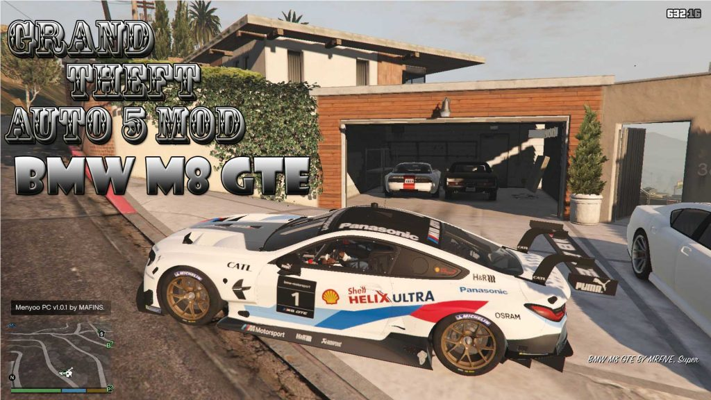 BMW M8 GTE Mod For GTA 5