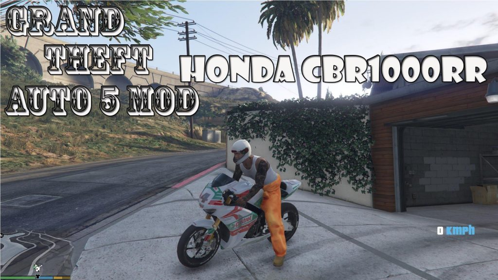 Honda CBR1000RR Mod For GTA 5