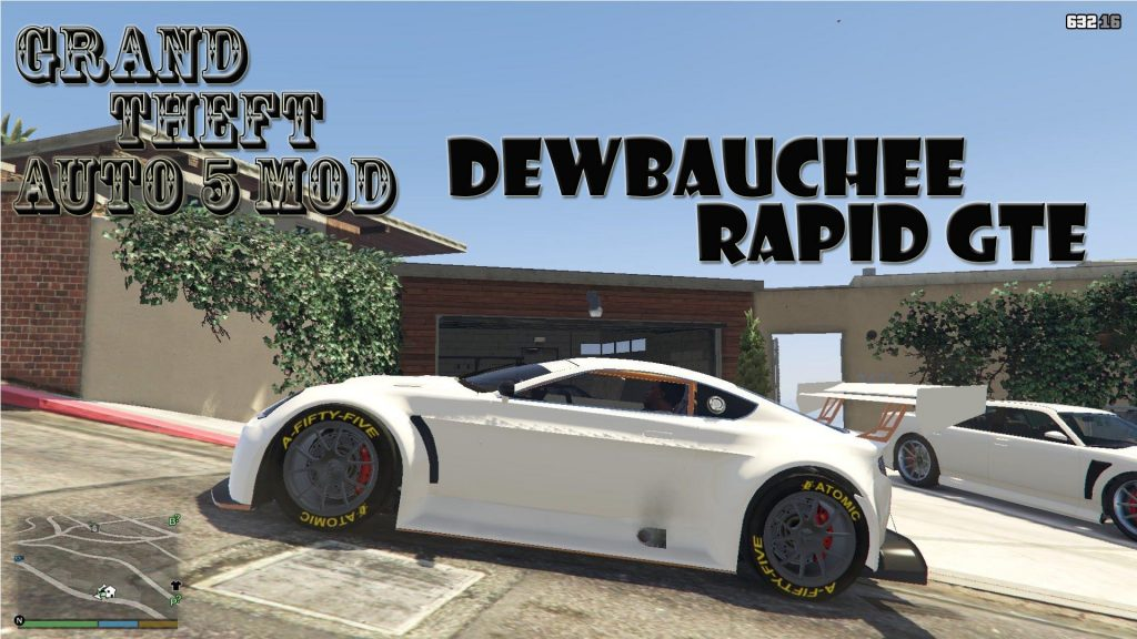 Dewbauchee Rapid GTE Mod For GTA 5